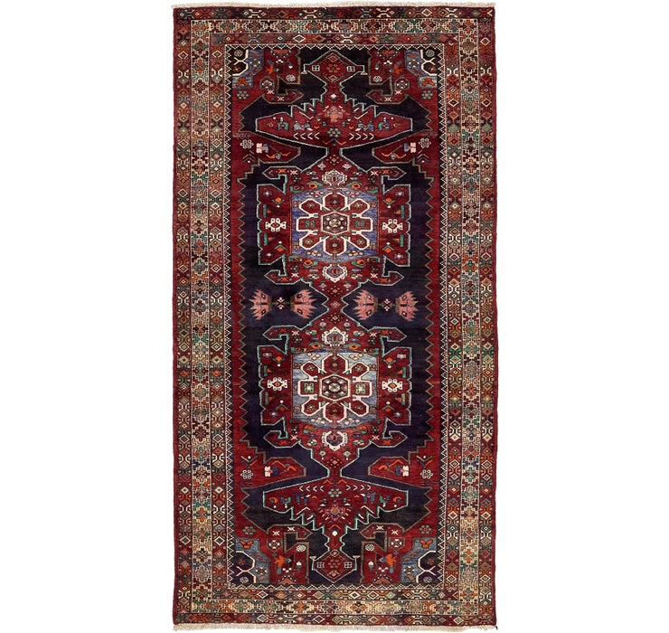 147cm x 305cm Saveh Persian Runner Rug