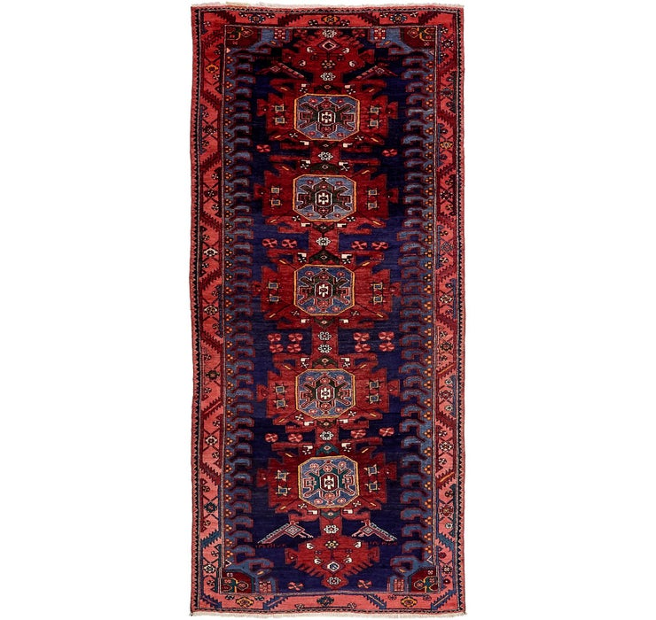 132cm x 300cm Saveh Persian Runner Rug