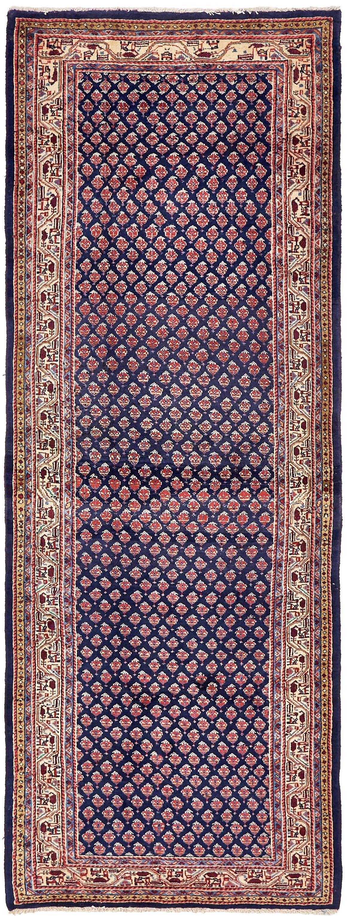 4' x 11' Farahan Persian Runner Rug main image