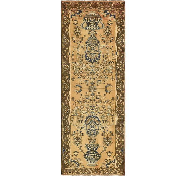 105cm x 290cm Saveh Persian Runner Rug