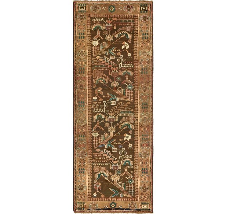 3' 7 x 9' 11 Saveh Persian Runner Rug