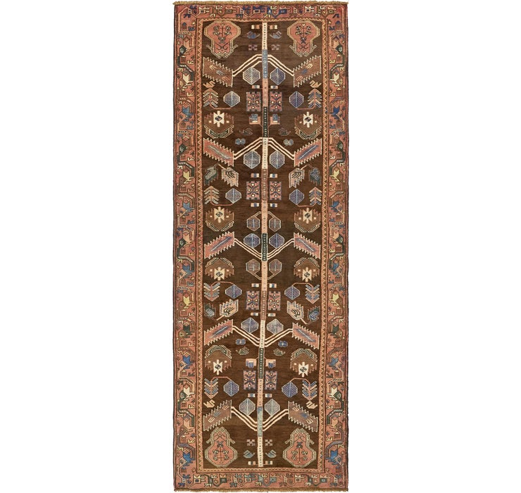 107cm x 305cm Saveh Persian Runner Rug