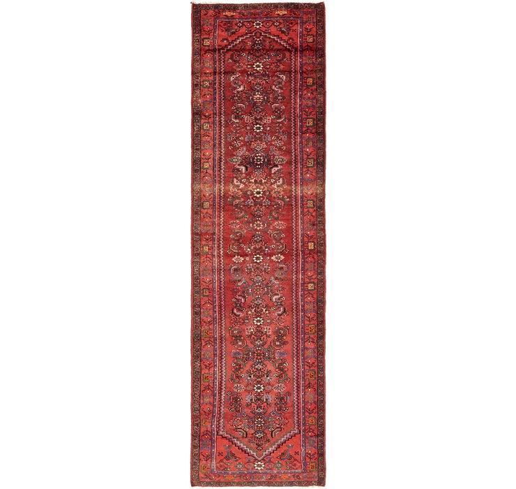 112cm x 410cm Zanjan Persian Runner Rug