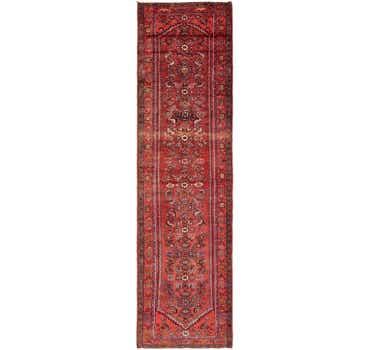 3' 8 x 13' 6 Zanjan Persian Runner Rug