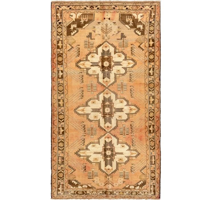 5' x 9' 4 Roodbar Persian Rug