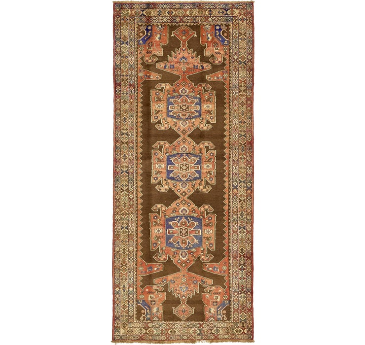 150cm x 365cm Saveh Persian Runner Rug