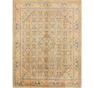 Image of 10' 7 x 13' 9 Farahan Persian Rug