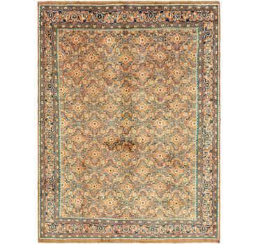 Image of 9' 10 x 12' 10 Farahan Persian Rug