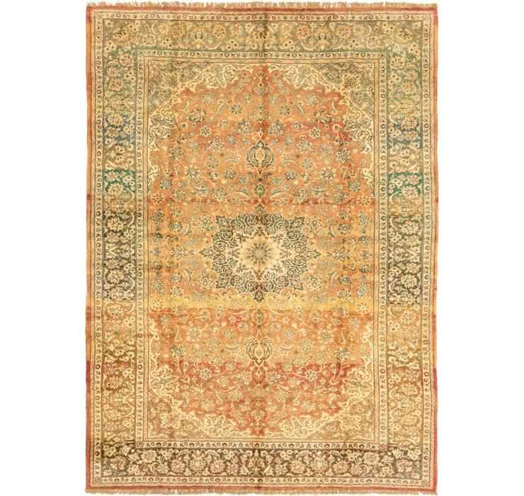 282cm x 385cm Mashad Persian Rug