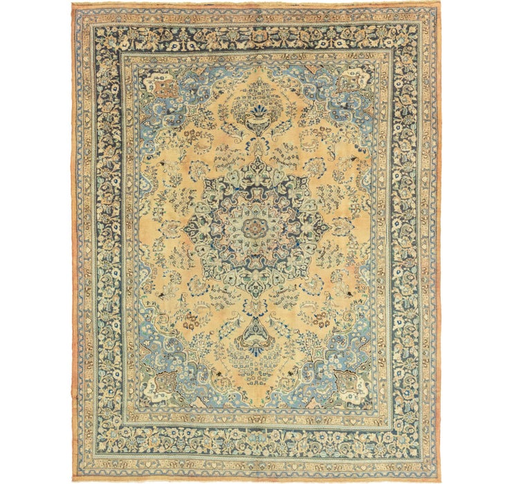 9' 5 x 12' 5 Mashad Persian Rug