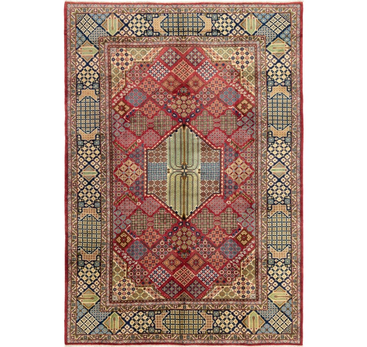 290cm x 410cm Isfahan Persian Rug
