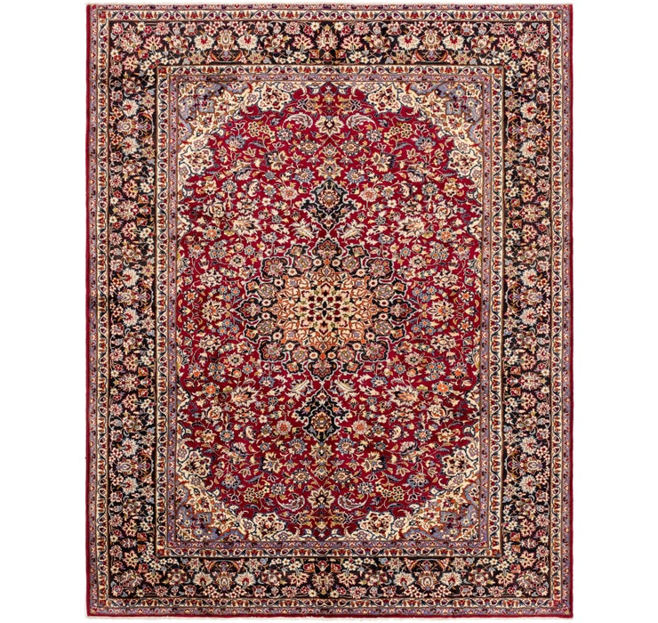 9' 9 x 13' 3 Isfahan Persian Rug