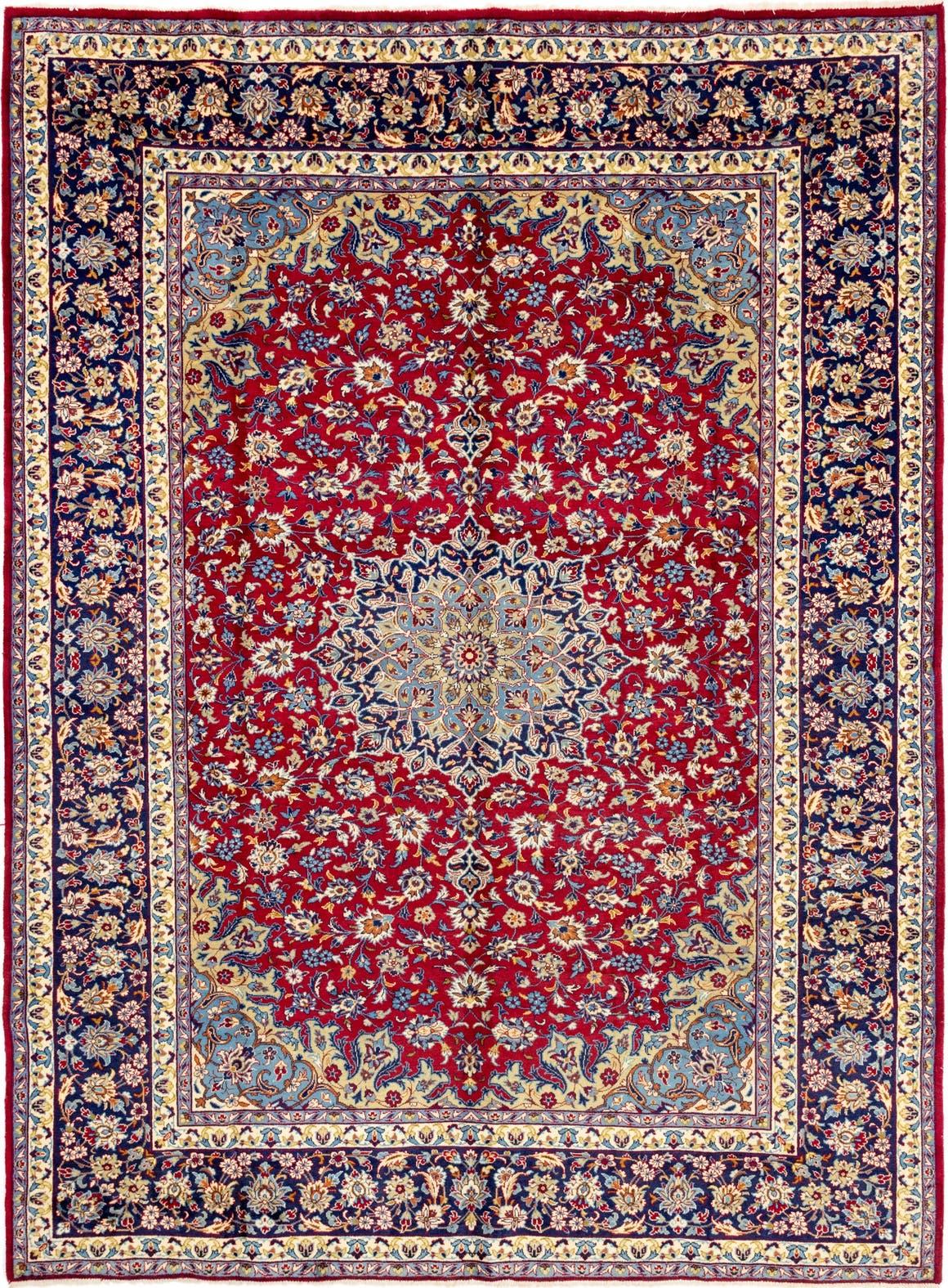 9' 9 x 13' 2 Isfahan Persian Rug main image