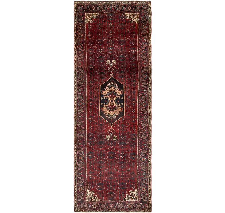 132cm x 385cm Gholtogh Persian Runner...