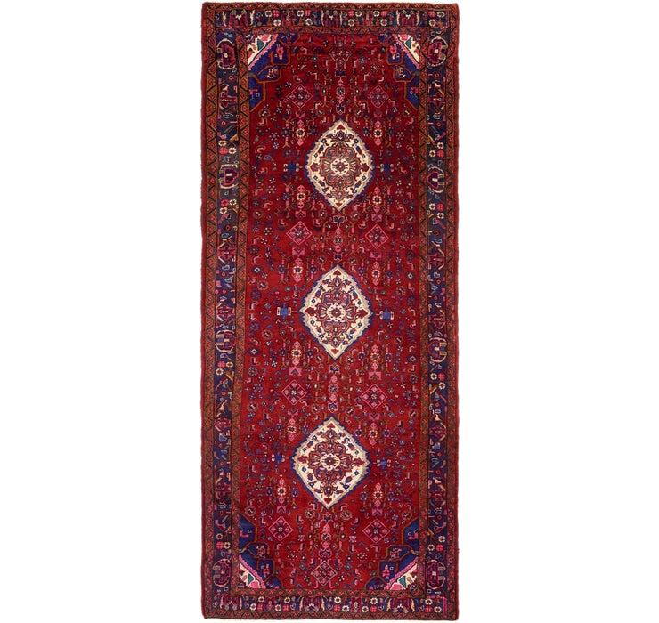 4' 6 x 11' Khamseh Persian Runner ...