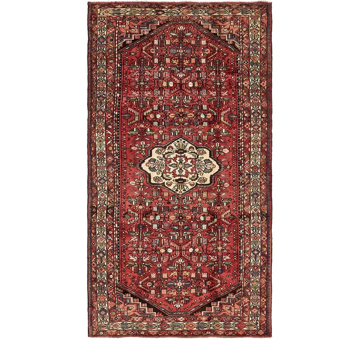 160cm x 310cm Zanjan Persian Runner Rug