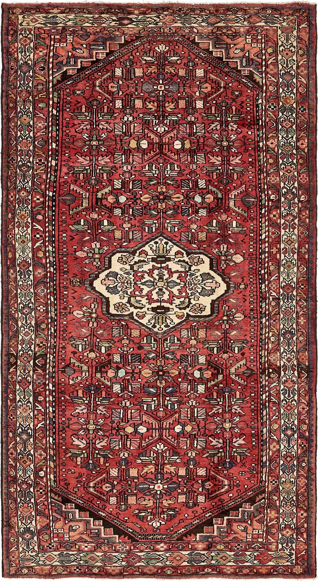 5' 3 x 10' 2 Zanjan Persian Runner Rug main image