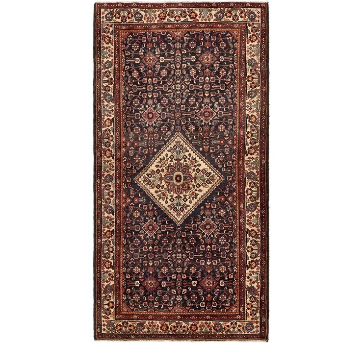 152cm x 295cm Hossainabad Persian Rug