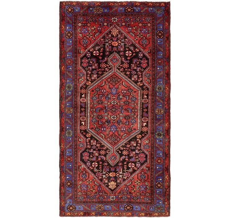 147cm x 292cm Zanjan Persian Runner Rug