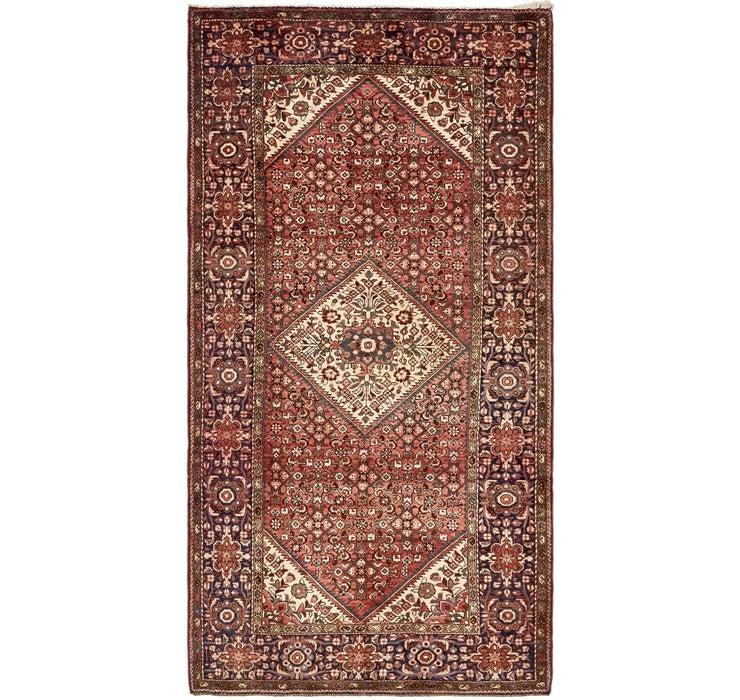 163cm x 305cm Hossainabad Persian Rug
