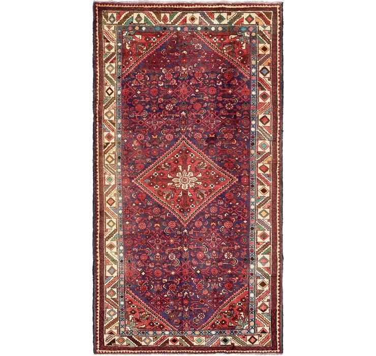 5' 5 x 10' 4 Hossainabad Persian Rug