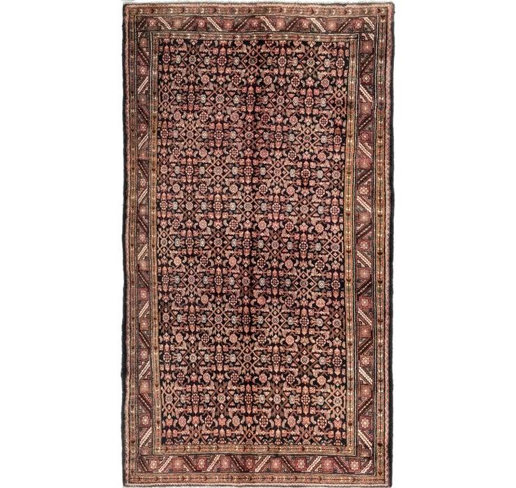 165cm x 297cm Hossainabad Persian Rug