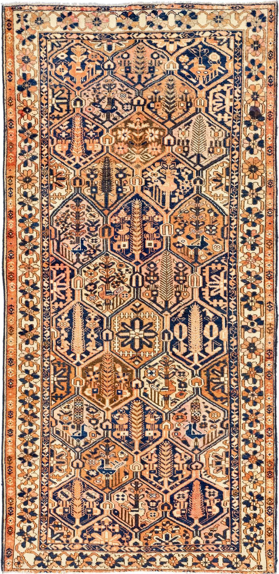 5' 3 x 10' 10 Bakhtiar Persian Runner Rug main image