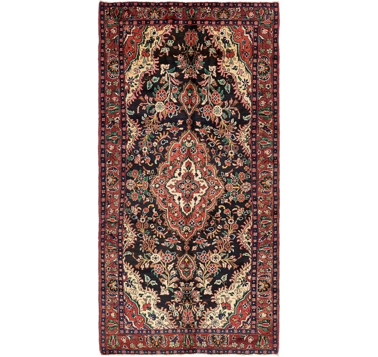5' x 10' 2 Hamedan Persian Runner ...