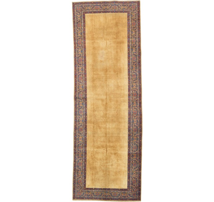 5' 6 x 16' Sarough Persian Runner ...