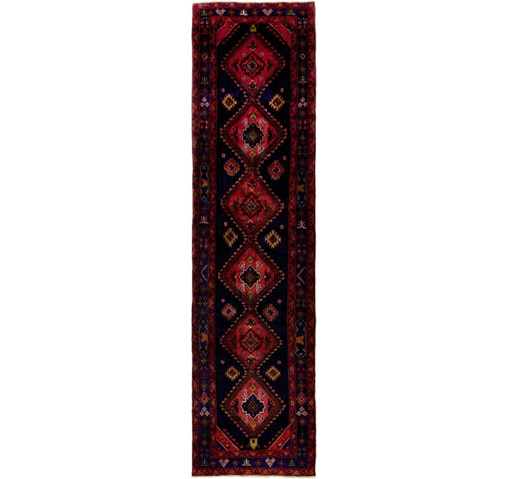 Image of 122cm x 452cm Sarab Persian Runner Rug