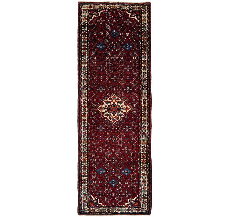 125cm x 385cm Hossainabad Persian Run...