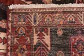 137cm x 338cm Mazlaghan Persian Runner Rug thumbnail image 12