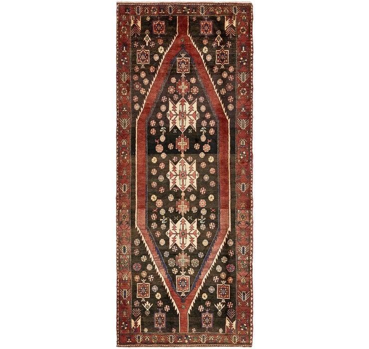137cm x 338cm Mazlaghan Persian Runne...
