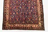 112cm x 335cm Hossainabad Persian Runner Rug thumbnail
