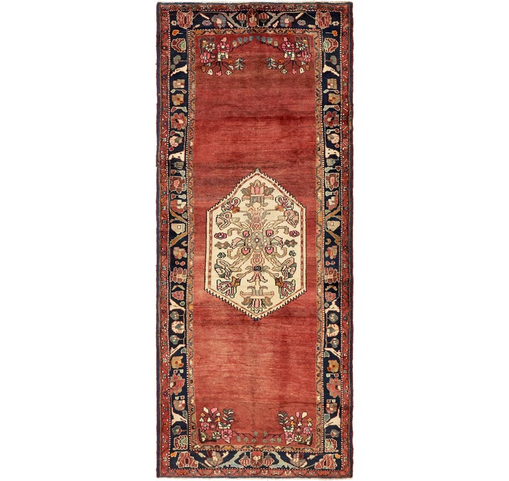 3' 10 x 9' 8 Roodbar Persian Runner ...