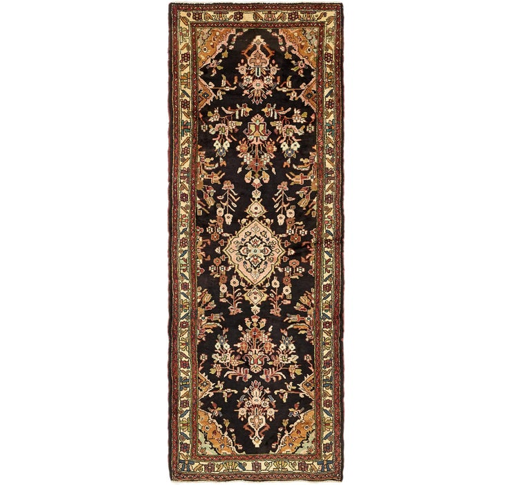 3' 5 x 9' 7 Khamseh Persian Runner ...