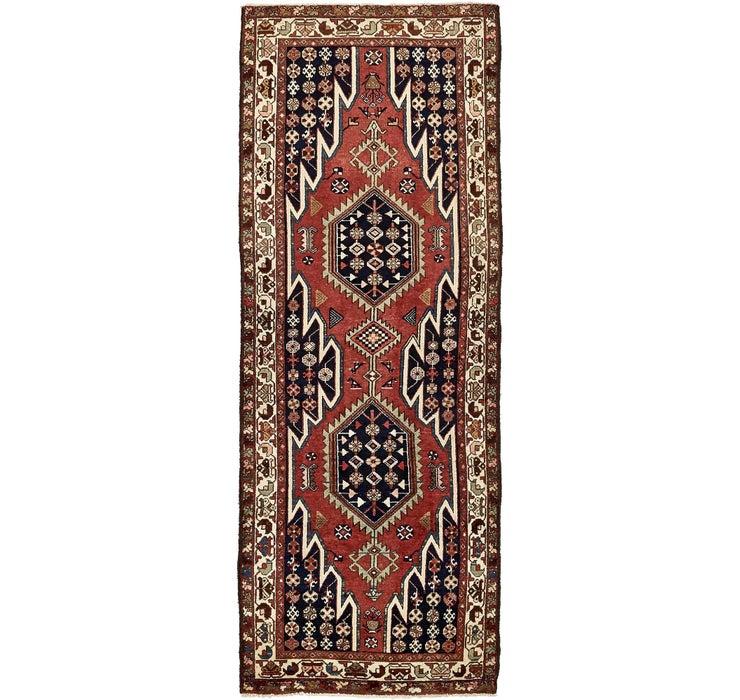 Image of 3' 8 x 9' 9 Mazlaghan Persian Runne...