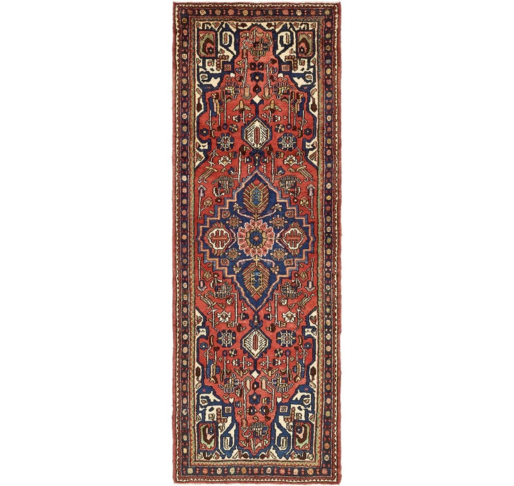 107cm x 312cm Mehraban Persian Runner...