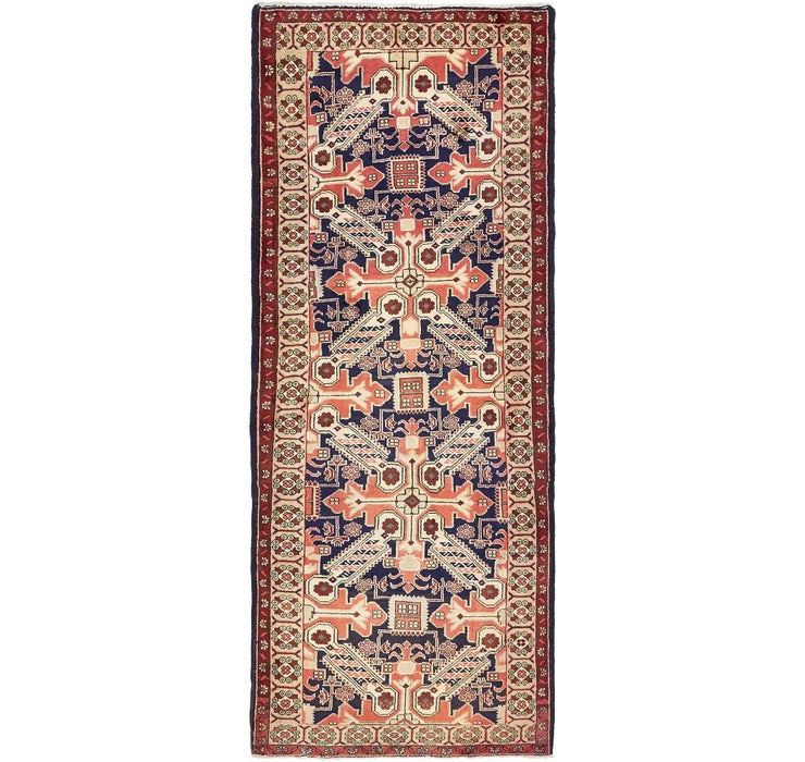 112cm x 292cm Saveh Persian Runner Rug