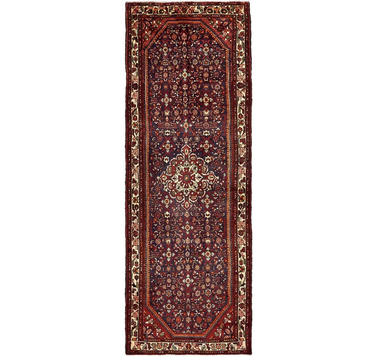 115cm x 328cm Hossainabad Persian Run...