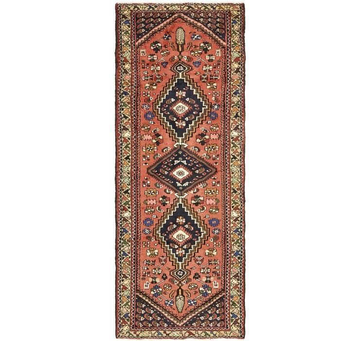 Image of 3' 5 x 9' 2 Khamseh Persian Runner ...