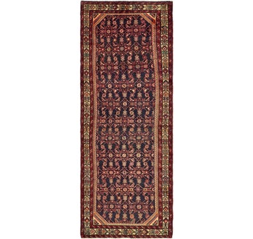 3' 6 x 9' 8 Hossainabad Persian Runner Rug main image