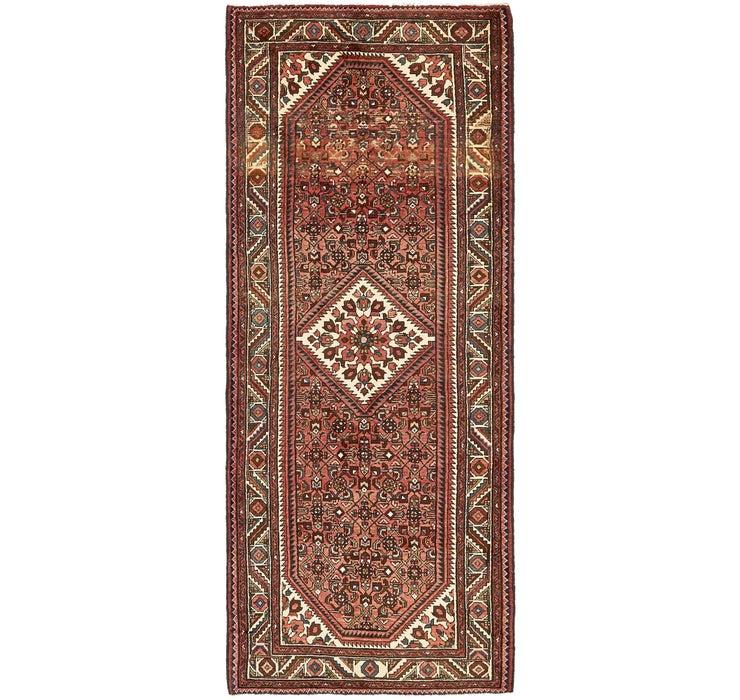 3' 8 x 9' 6 Hossainabad Runner Rug