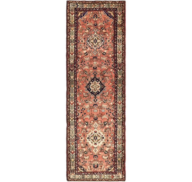 97cm x 310cm Borchelu Persian Runner...