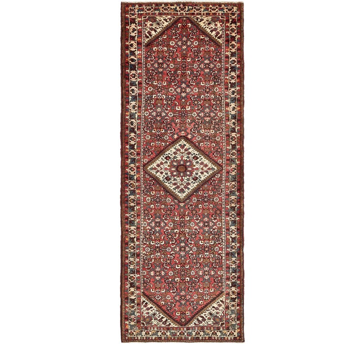 112cm x 318cm Hossainabad Persian Run...