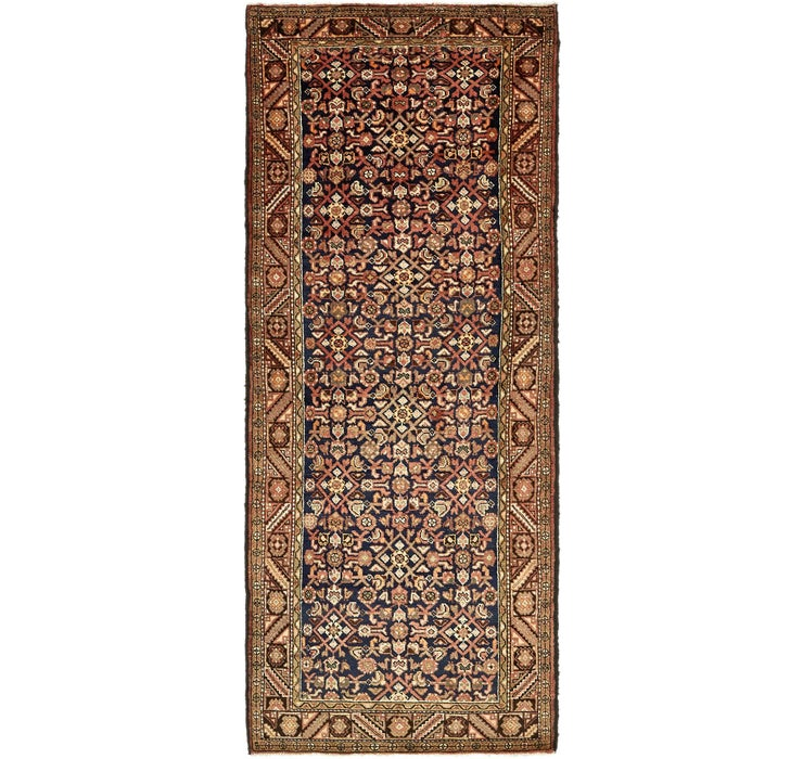 127cm x 325cm Hossainabad Persian Run...