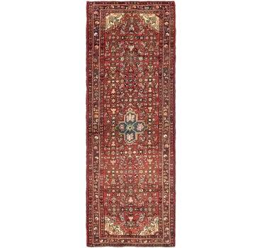 3' 5 x 9' 10 Hossainabad Persian Runner Rug main image