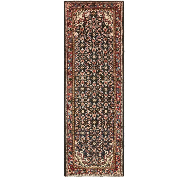 107cm x 312cm Borchelu Persian Runner...