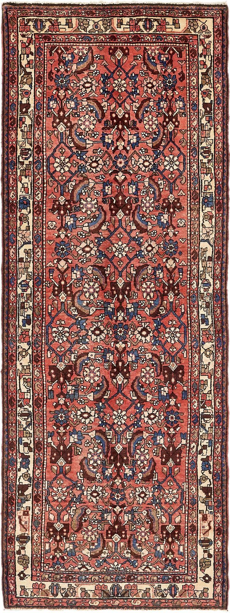 3' 5 x 9' 9 Borchelu Persian Runner Rug main image