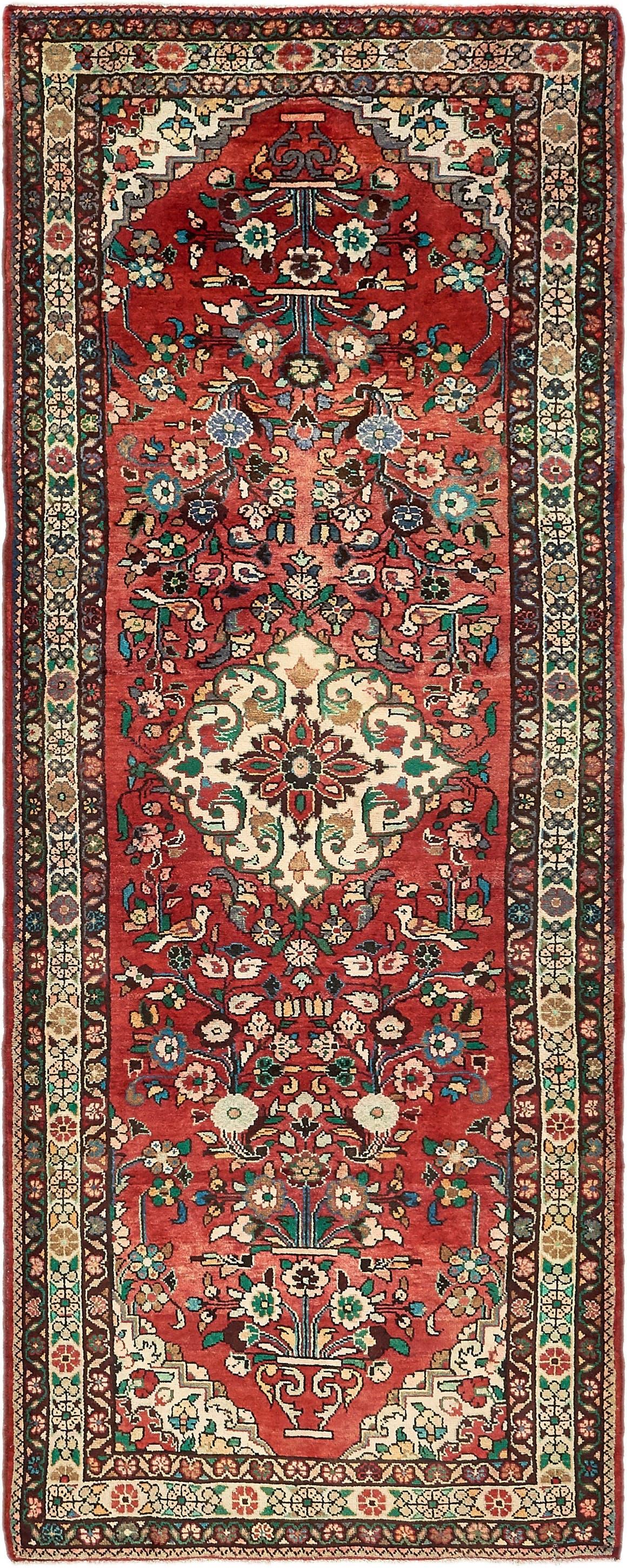 3' 10 x 10' 2 Borchelu Persian Runner Rug main image